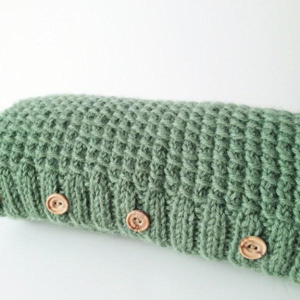 Knitting Pattern Cowl - Textured Shawl