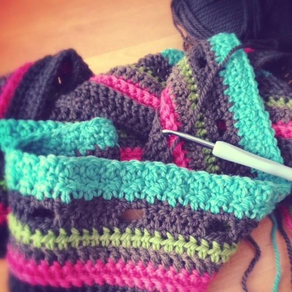 Crochet blanket - Project 365 - Day 49
