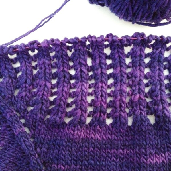 My Colonnade Shawl from Stephen West