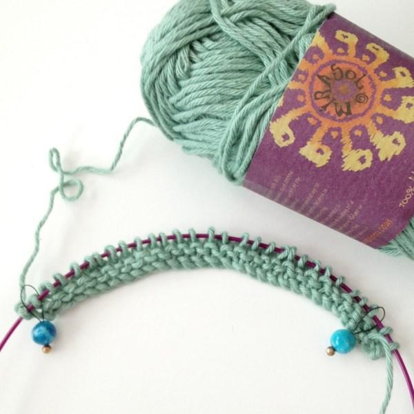 Yarn Knitting cotton - Project 365 - Day 95