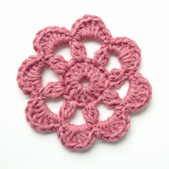 "Crochet flower ""Rainyday"""