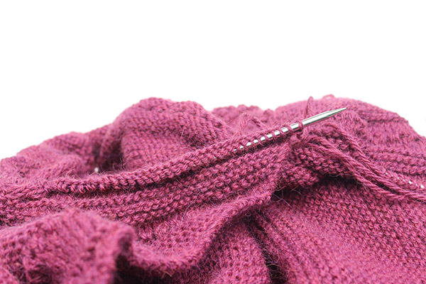 Work In Progress For A New Knitting Shawl