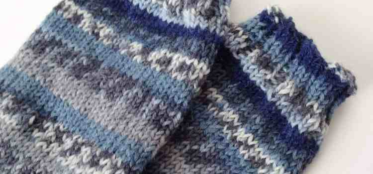 Knitting Socks and Crochet Washcloth: Project 365