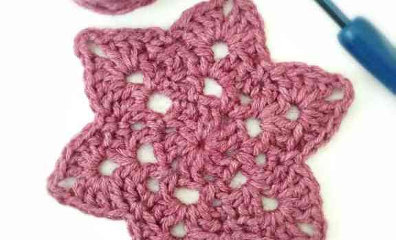Crochet Motif From My Favorite Crochet Book