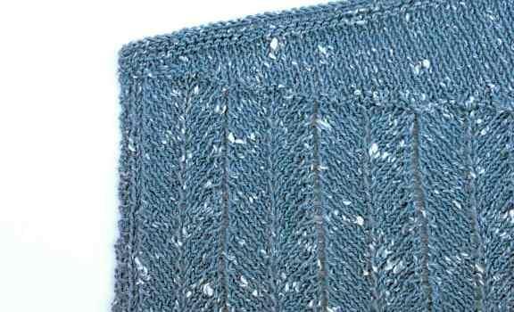 Knitting Pattern Shawl: Work In Progress