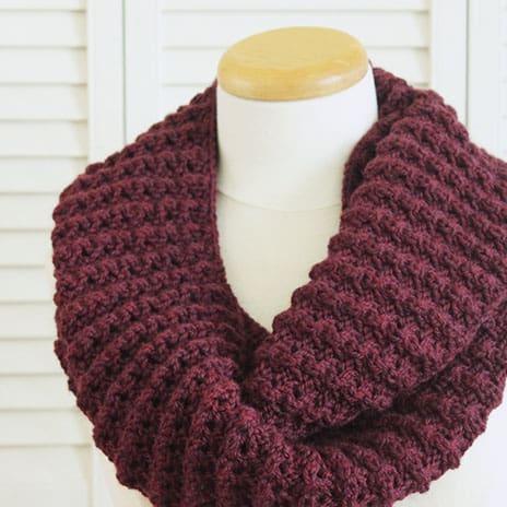 Knitting Pattern Puffy Cowl 2