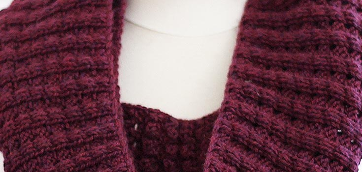 [New Knitting Pattern] The Infinity Puffy Scarf