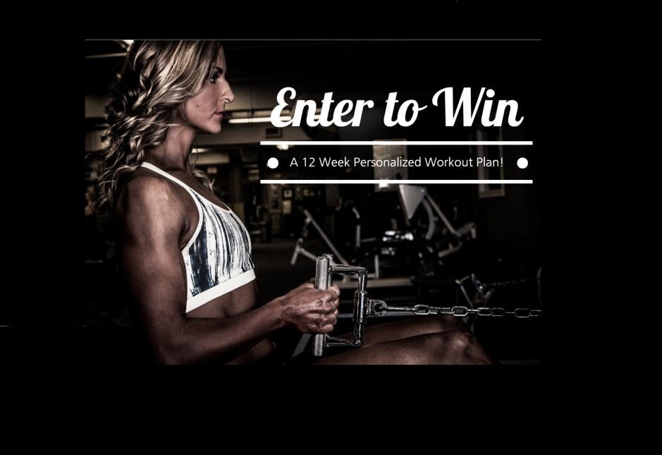 12 week plan giveaway- featured image