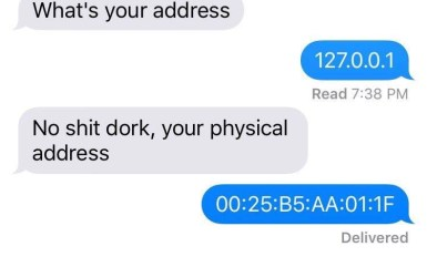 Computer Guys Response To Whats Your Address Meme