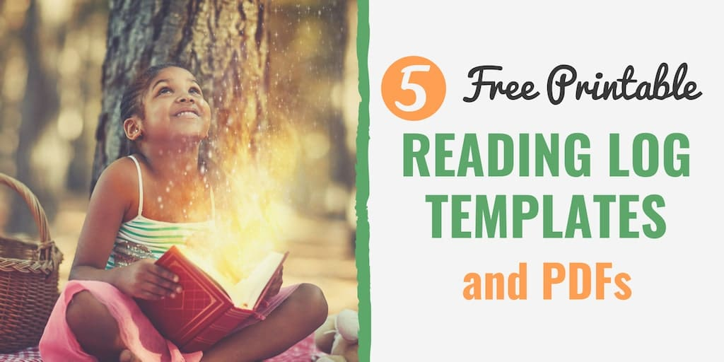 5 Best FREE Printable Reading Log Templates (and PDFs) for Kids