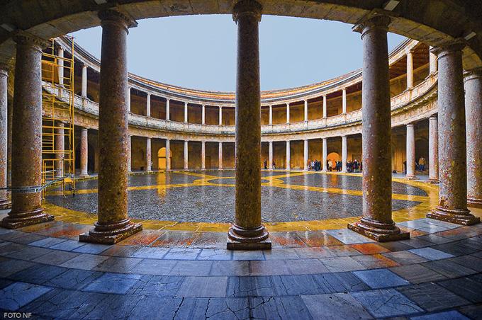Palacio de Carlos V en Granada