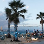 Salt beach Club en la Barceloneta