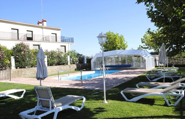 Balneario de Brozas en Cáceres