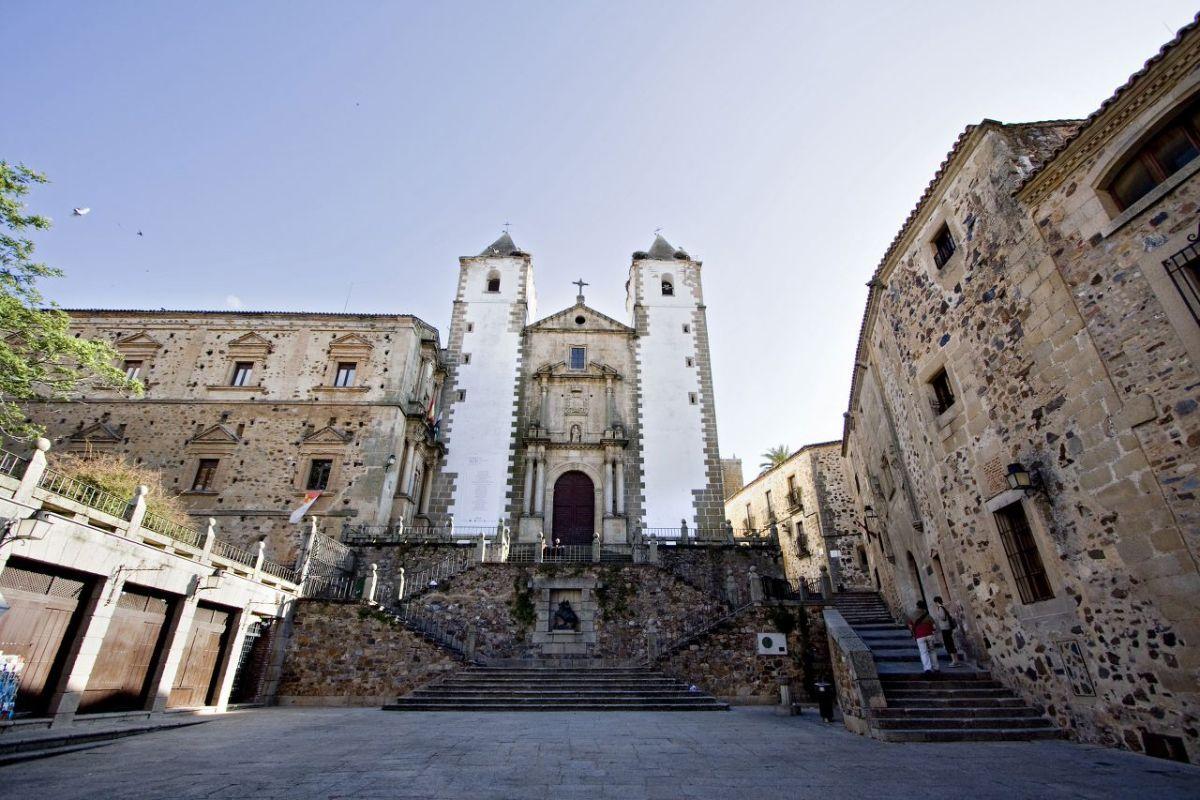 La Plaza de San Jorge en Cáceres
