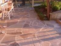 Flagstone: what to use, sand, cement, or gravel? - Devine ...