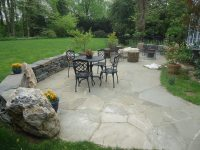 Flagstone Patios and Natural Stone Hardscaping in Devon PA ...