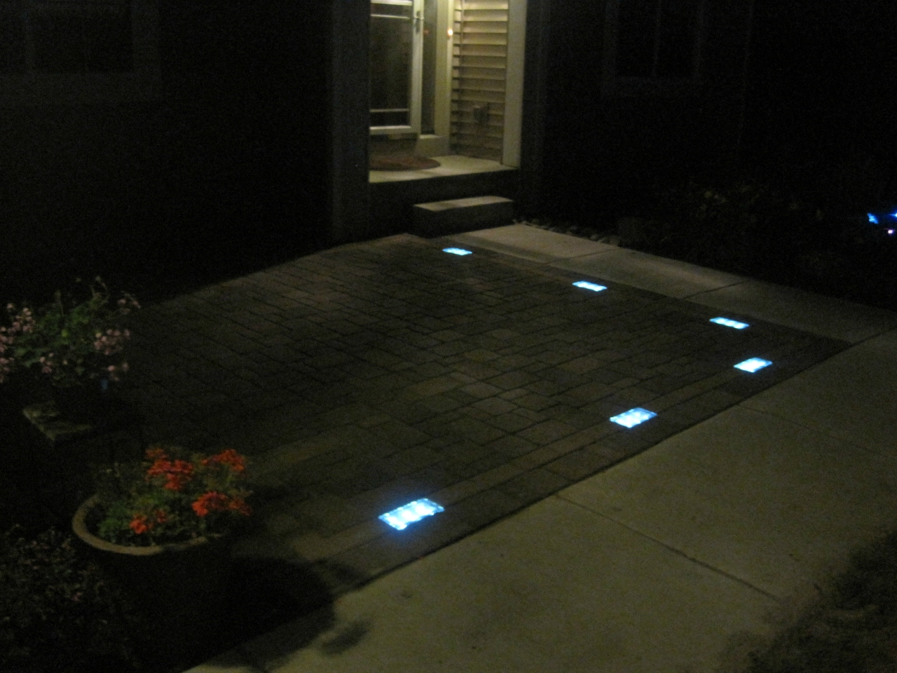 in ground lighting. In Ground Outdoor Lighting R