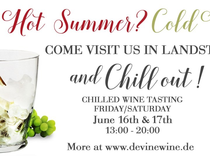 Chilled Wines Weekend Tasting Website Banner