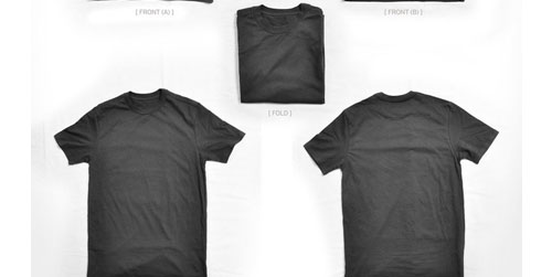 12 Unique T-Shirt Templates To Download For Free