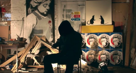 Exit Through The Gift Shop – in cahoots with Banksy