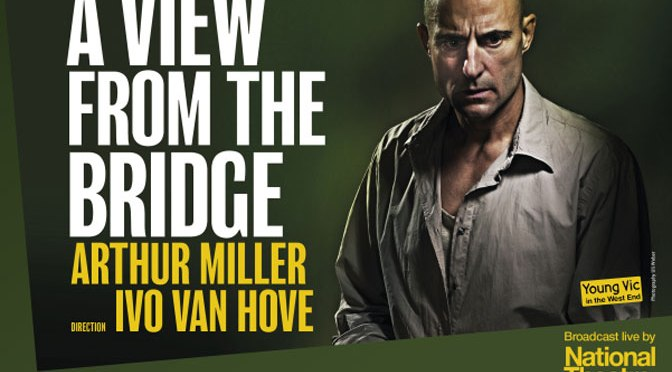 Mark Strong in A View From The Bridge screened live in Exeter