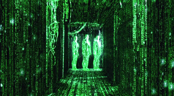 Prepare to go down the rabbit hole: The Matrix at a secret location in Exeter!