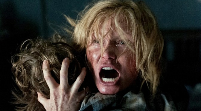 Sex, Leins & Videotape #195. Tom Leins reviews The Babadook, Gutshot, Collection and Scoop.