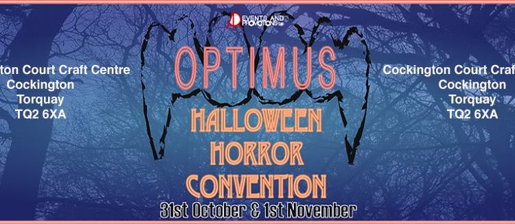 Horror comes to Devon: Halloween Horror Convention in Torbay