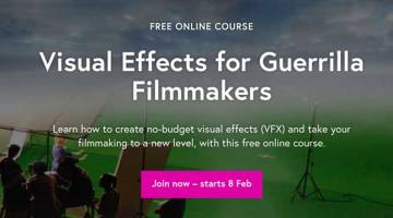 Visual Effects for Guerrilla Filmmakers free course