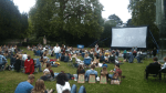 Pop Up cinema at The Double Locks, Exeter