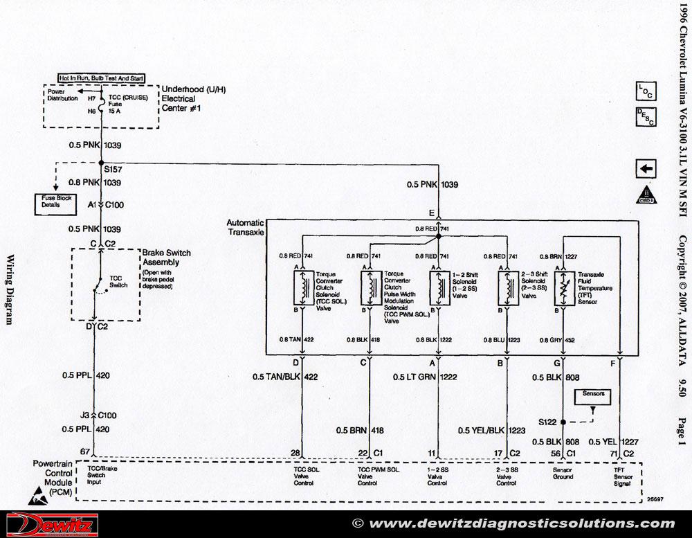 4t60e wiring diagram
