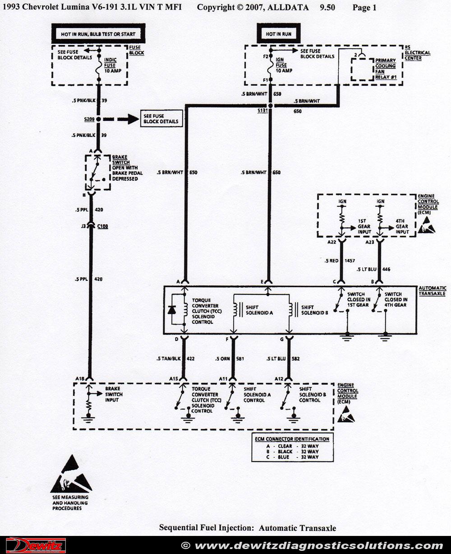 4t60e transmission harness