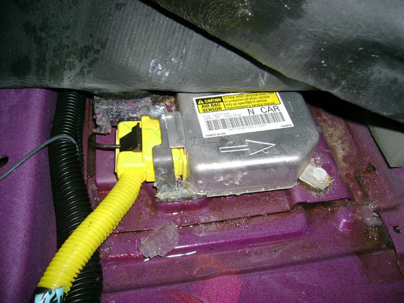 Airbag Light 1996 Pontiac Grand Am No Communication Dewitz