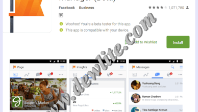 Facebook pages manager download