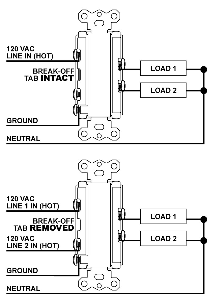 wiring a outlet in series