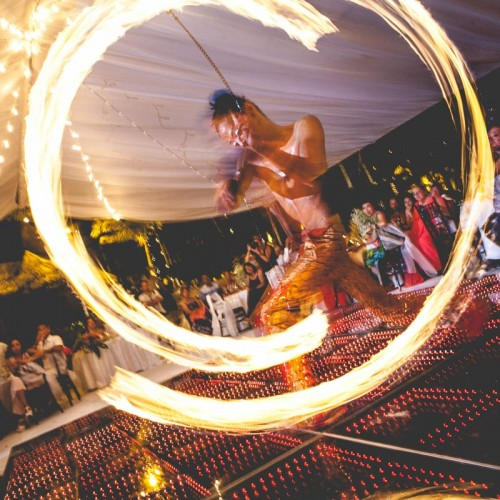 Wedding cancun-Planners-fire shows for events-fire shows company-34