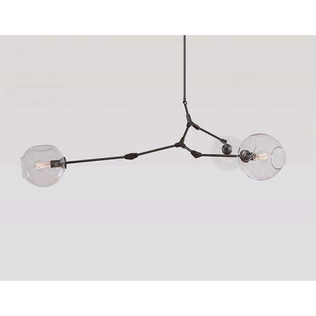Branching Bubble Design Chandelier by LINDSEY ADELMAN - A decorative