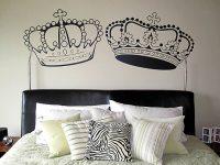 A crown affair wall decals, decor by juliana - Dezign Blog