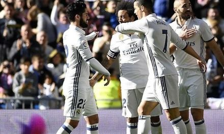 El Real Madrid sigue batiendo récords y arrasa al Granada con cinco goles