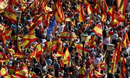 50.000 personas se movilizan en Madrid contra la independencia