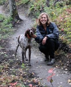 deb and dog
