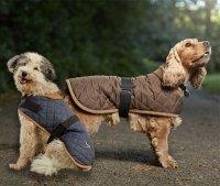 Quilted Dog Coat | Water Resistant | Fleece Lined