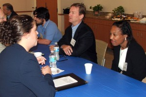 Tamara Jones (right) of Constangy, Brooks, Smith & Prophete, LLP