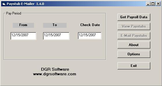 DGR Software