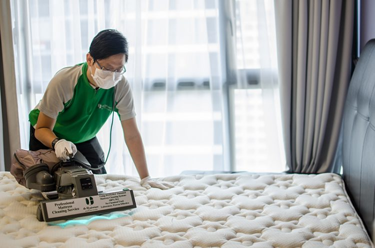 Mattress Cleaning, Bed Sanitising in Singapore - De Hygienique