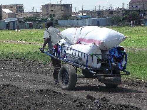 A mkokoteni owner who earn Sh5 million per year in Nairobi