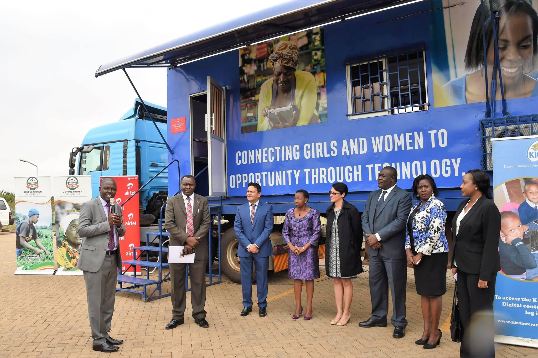 Intel, Airtel launches free digital training caravan in Kenya
