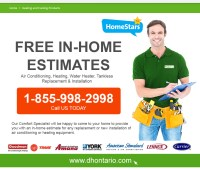 FREE in Home Estimate | Furnace, Air Conditioner, Water Heater