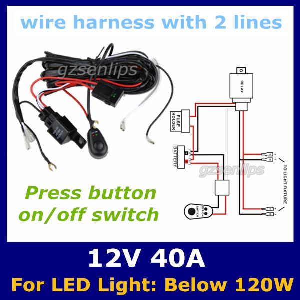 Led Light Bar Fixture Wiring Diagram Jetsonic Light Bar Wiring