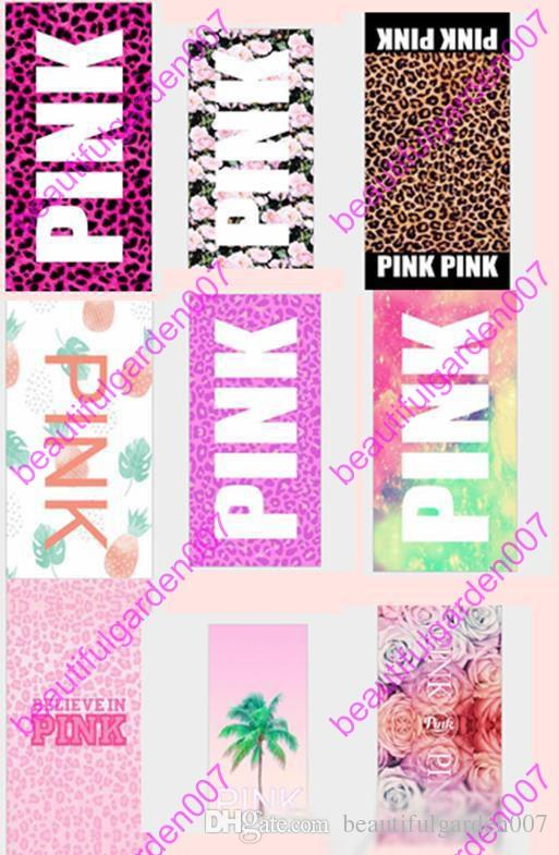 Großhandel Vs Rosafarbenes Bad Strand Tuch 70 * 140cm 22 Arten - badezimmer pink